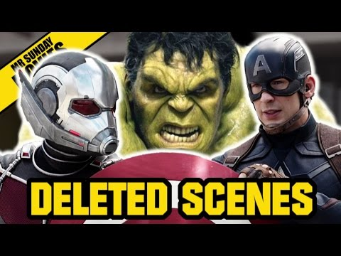 The Best Deleted Scenes From Marvel Superhero