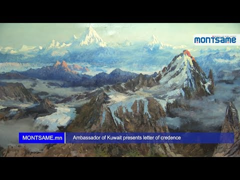 "Mongolian Fine Art Masterpiece: ""The Himalayan Mountains"""