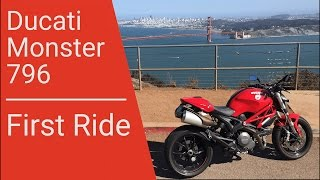 6. 2011 Ducati Monster 796 | First Ride in 4K
