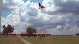 Larned (KS) United States  city pictures gallery : Fort Larned, KS Memorial Day 2009 Flag Raising