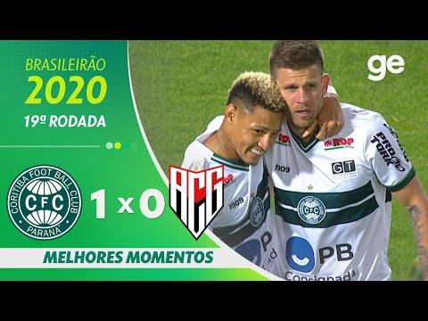 CORITIBA 1 X 0 ATLÉTICO-GO | MELHORES MOMENTOS | 19ª RODADA BRASILEIRÃO 2020 | ge.globo