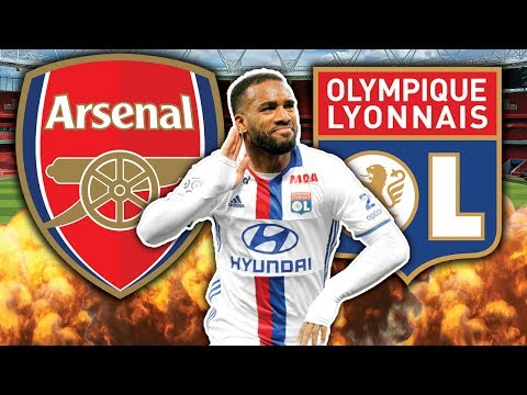 Video: Arsenal To Make Alexandre Lacazette Their Number 1 Transfer Target?!   W&L