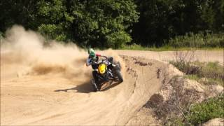 3. Can-am DS 450 ATV MX Track