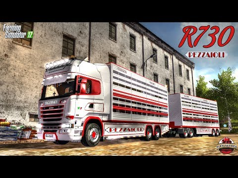Scania R730 animal transports v2.1