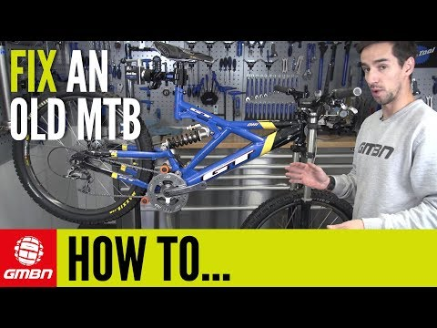 How To Fix Up An Old MTB | Mountain Bike Maintenance (видео)