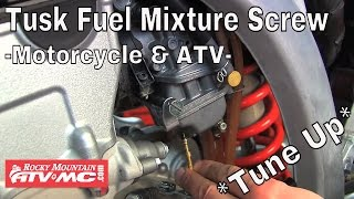 10. Tusk Fuel Mixture Screw Installation & Tuning - Motorcycle & ATV