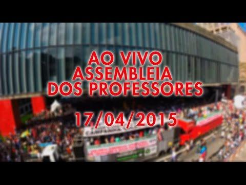 Assembleia dos Professores - 17 de Abril
