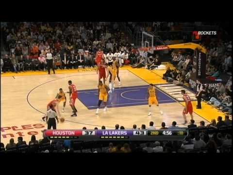 Goran Dragic Highlights - 26 points (11 assists) vs Lakers 4/6/2012