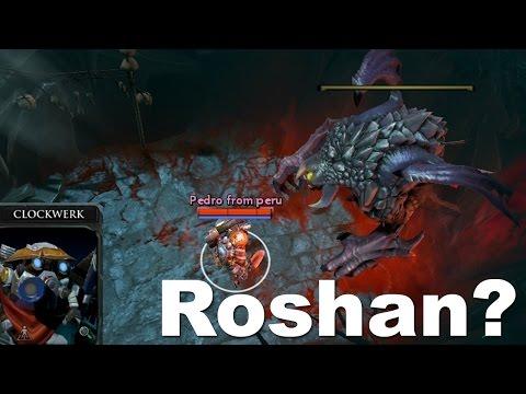 Shock với phi vụ bắt cóc Roshan trong Dota