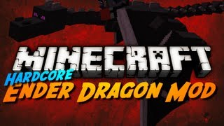 Minecraft Mod Review: HARDCORE ENDER DRAGON MOD!