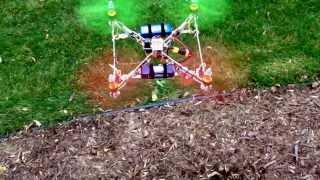 UAir R10 Quadcopter flies again (with a new Naza M Lite brain)