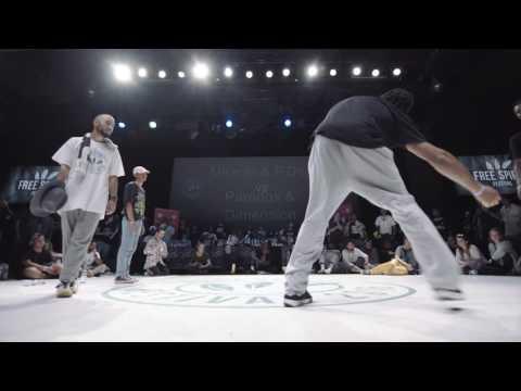 Paradox & Dimension vs Pdog & Miracle - 2 vs 2 Hip Hop 1/2 Final - Free Spirit Championship 2016