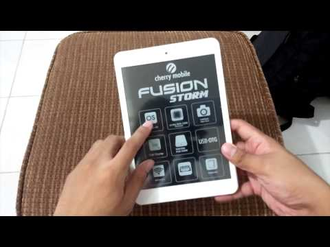 Cherry Mobile Fusion Storm Unboxing and Hands-on