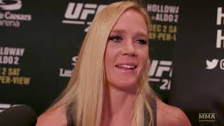 Video Holly Holm Explains How She's Been Able To Overcome Adversity In Fighting - MMA Fighting MP3, 3GP, MP4, WEBM, AVI, FLV Juli 2018