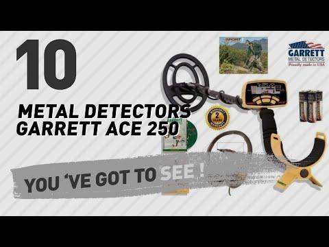 Metal Detectors Garrett Ace 250 // New & Popular 2017