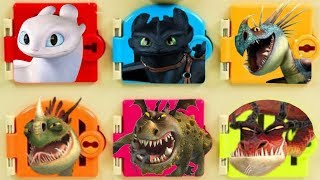 Video How to Train your Dragon Trapped Door Game with Toothless and Light Fury Toys MP3, 3GP, MP4, WEBM, AVI, FLV Maret 2019