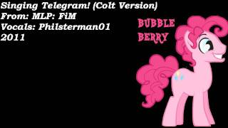 Pinkie Pie's Singing Telegram! (Colt Version)