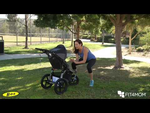 BOB & FIT4MOM Stroller Exercises - Repeater Knees
