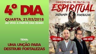 Download Lagu Conferência Anual de Batalha Espiritual - 4º DIA - Mensagem: Uma Unção para Destruir Fortalezas Mp3
