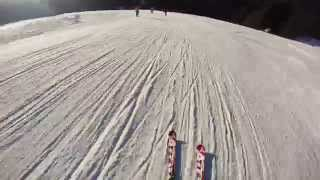 Madonna di Campiglio Italy  City pictures : Skiing on Amazzonia (black run), Jan. 2015 - Madonna di Campiglio (Italy)