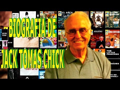 Chick Publications En Español-(Biografia De Jack Thomas Chick)