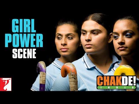 Girl Power   Scene   Chak De India   Shah Rukh Khan