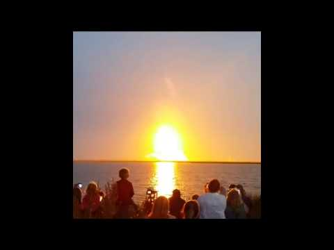 rocket - A private cargo spacecraft built by Orbital Sciences exploded on lift-off from NASA's Wallops Flight Facility in Virginia on Tuesday, October 28. The Antares rocket was carrying Orbital Sciences's...