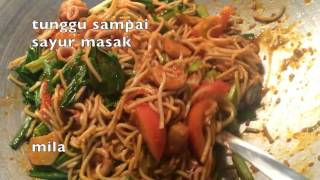 Resepi mee goreng basah Video