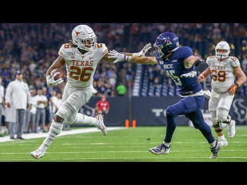 Texas vs. Rice Football Highlights