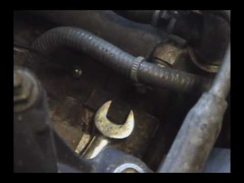 1995-1999 Nissan Maxima: (2/2) Knock sensor replacement
