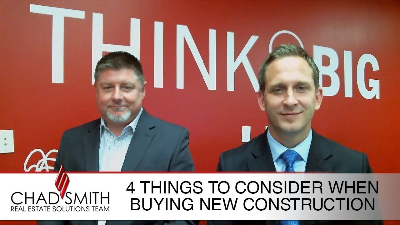 4 Things to Consider When Buying New Construction
