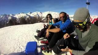 Grachen Switzerland  city pictures gallery : Amazing Paragliding in Grächen Switzerland