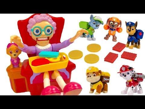 Paw Patrol Plays Fun Greedy Granny Board Game