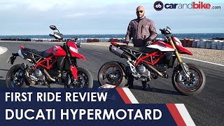 8. 2019 Ducati Hypermotard 950/SP First Ride Review | NDTV carandbike