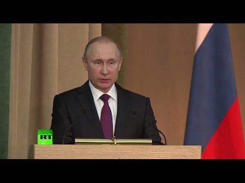 Путин потребовал от прокуратуры незамедлительной реакции на нарушение законов (видео)