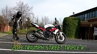 5. First 'Live Ride' Review of the 2014 Triumph Street Triple R