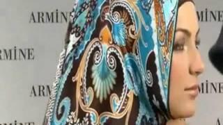 الحجاب التركى موضة شتاء 2012