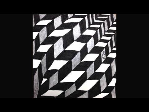 Weekly Zentangle® Tangle Video: JONQAL #Zentangle TV