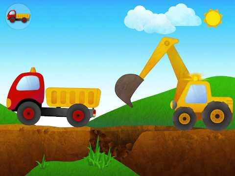 รถแม็คโคร - เกมส์จำลองรถตักดินและรถบันทุก บน iOS.