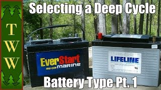 In this first part I cover some battery specific definitions, the general design of lead batteries and cover the pros and cons of the flooded lead acid battery.Music: Tranquility Base by Kevin MacLeodLicensed under Creative Commons: By Attribution 3.0 http://creativecommons.org/licenses/by/3.0/