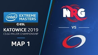 CS:GO - NRG vs. compLexity  [Nuke] Map 1 Ro3  -  Legends Stage -  IEM Katowice 2019