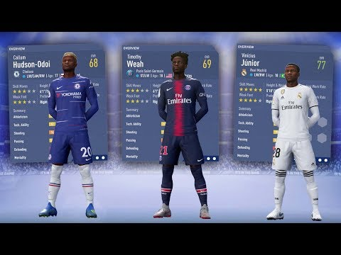 FIFA 19 BEST YOUNG CAREER MODE PLAYERS! - FIFA 19 CAREER MODE