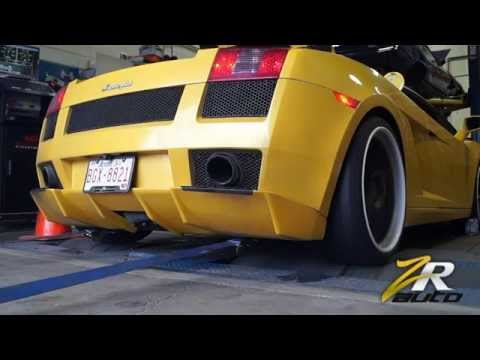 Heffnertwinturbo - We recently finished outfitting this 2004 Lamborghini Gallardo on Brixton Wheels with an 800hp Heffner Twin Turbo system. Listen to it scream on the dyno! ww...
