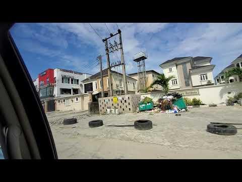 Vlog : Beautiful Osapa London, Lekki Epe Expressway, Lagos Nigeria   Serene To Stay In Lekki Axis