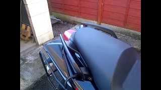 7. Aprilia Shiver 750 2011 Hacked Exhaust