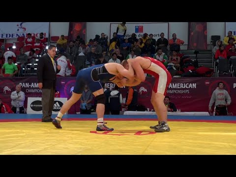 86KG q, Chris Perry, USA vs Matthew Miller, Canada