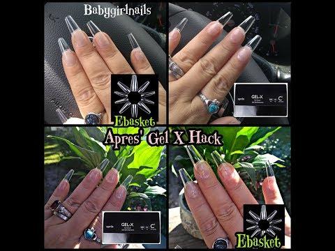 Gel nails - APRES SOFT GEL EXTENSIONS HACK!! VERY INFORMATIVE TUTORIAL & LONG!