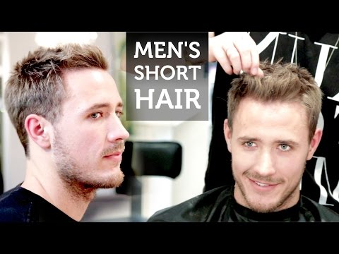 Men's Short Hair | Josh Duhamel Inspired Hairstyle | How To Style Short Hair
