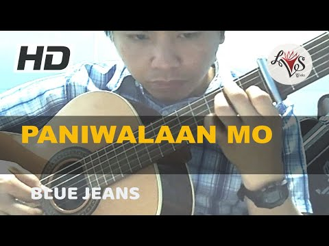 Paniwalaan Mo - Blue Jeans (solo guitar cover)