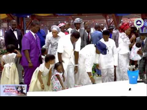 Pastor EA Adeboye Thanksgiving #CompleteRestoration